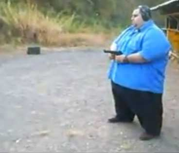 Fat Guy With A Gun 112