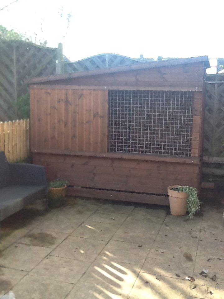 Quality Dog Kennel by Timberbuild