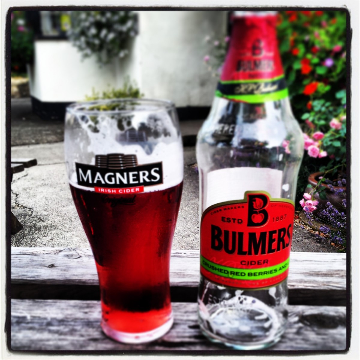 Bulmers, because there's nothing more country than cider, right?