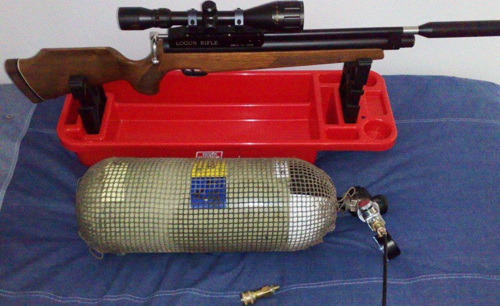 Logun Mk 1  22 PCP Air rifle for sale - Gun's and Rifle's