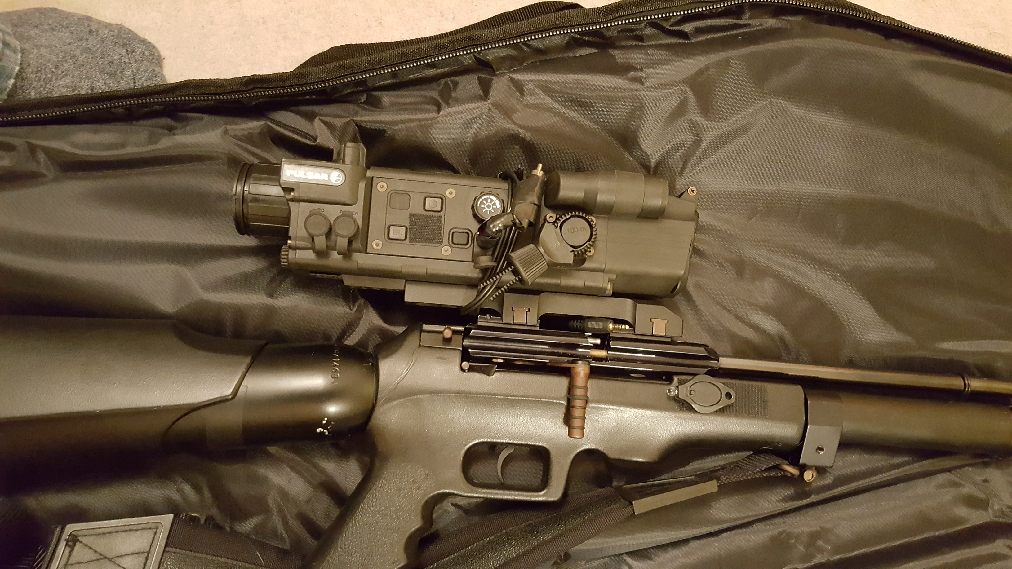 For Sale: Pulsar N550 Scope + Pulsar IR Torch