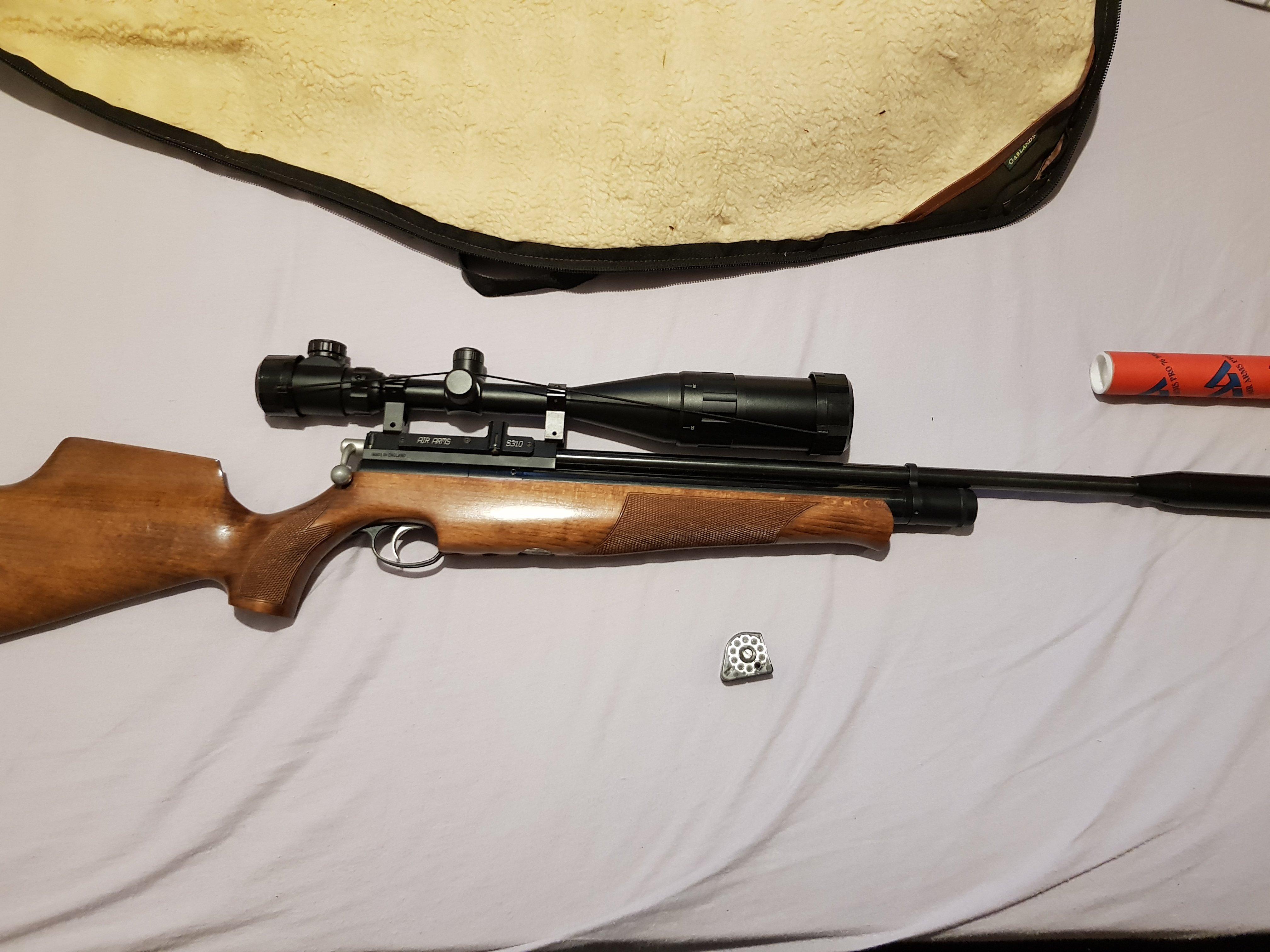 Air rifle clear out air arms s310 gunpower stealth stoeger