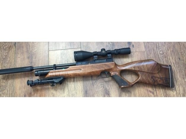 Weihrauch HW100KT .177 pre charged air rifle in Wrexham