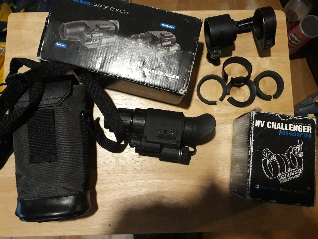 Pulsar Challenger Night Vision With Dsa,add-on