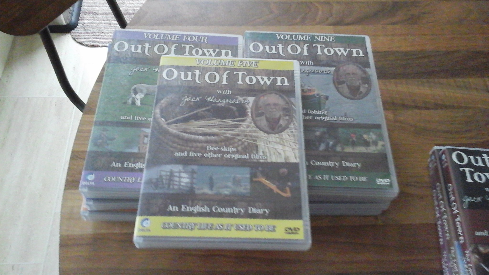out of town dvds