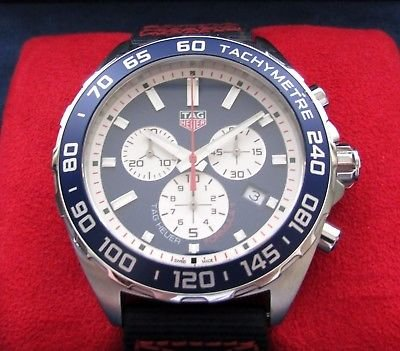 NOW SOLD. Reduced price. Tag heuer red bull racing chronograph