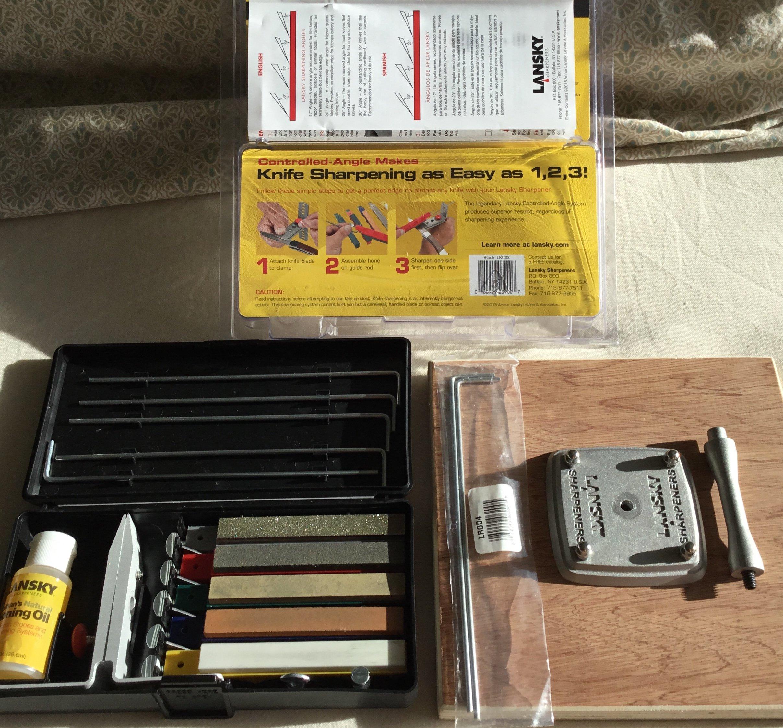 Lansky knife sharpening full kit