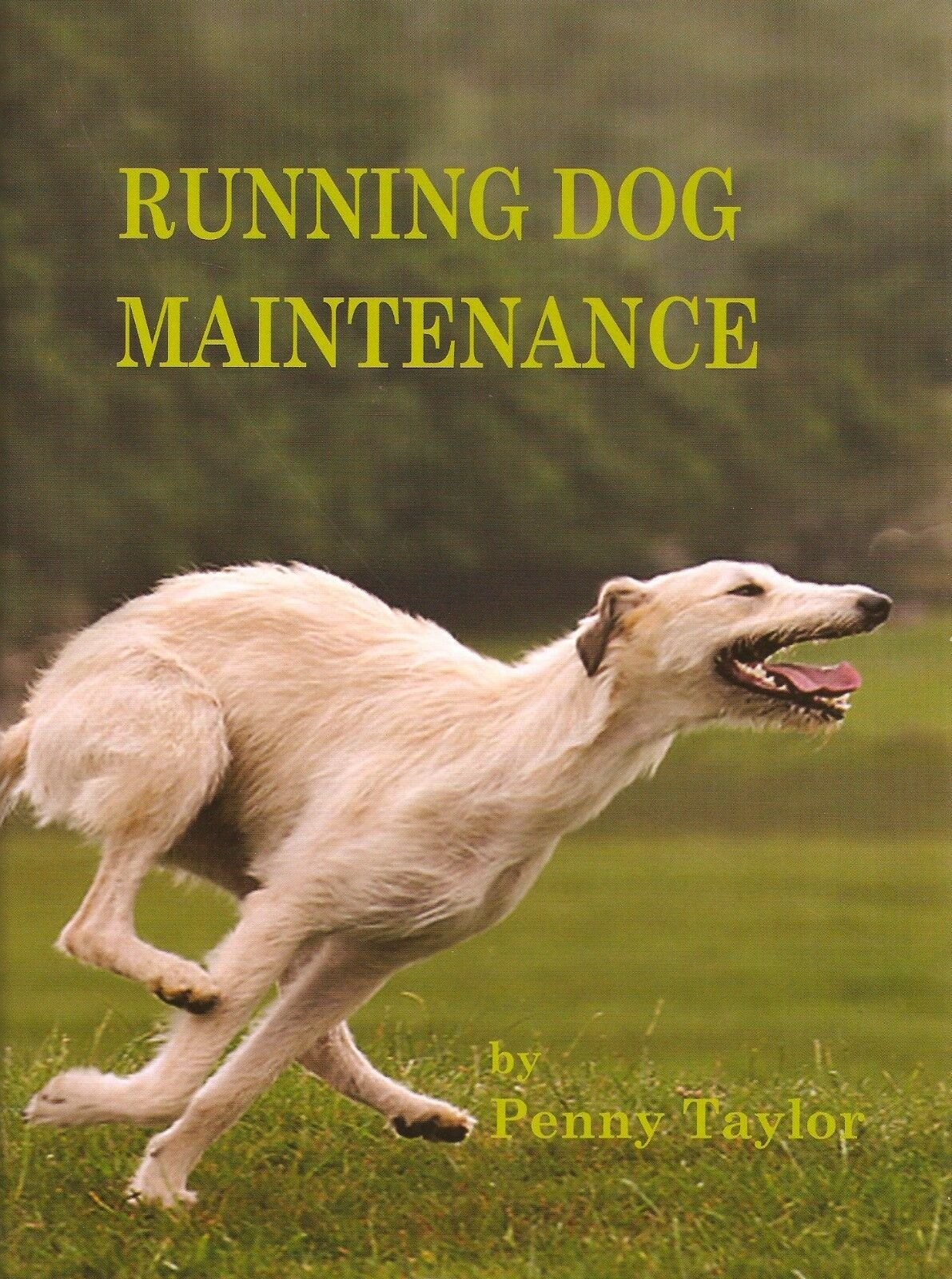 Running dog maintenance by Penny Taylor