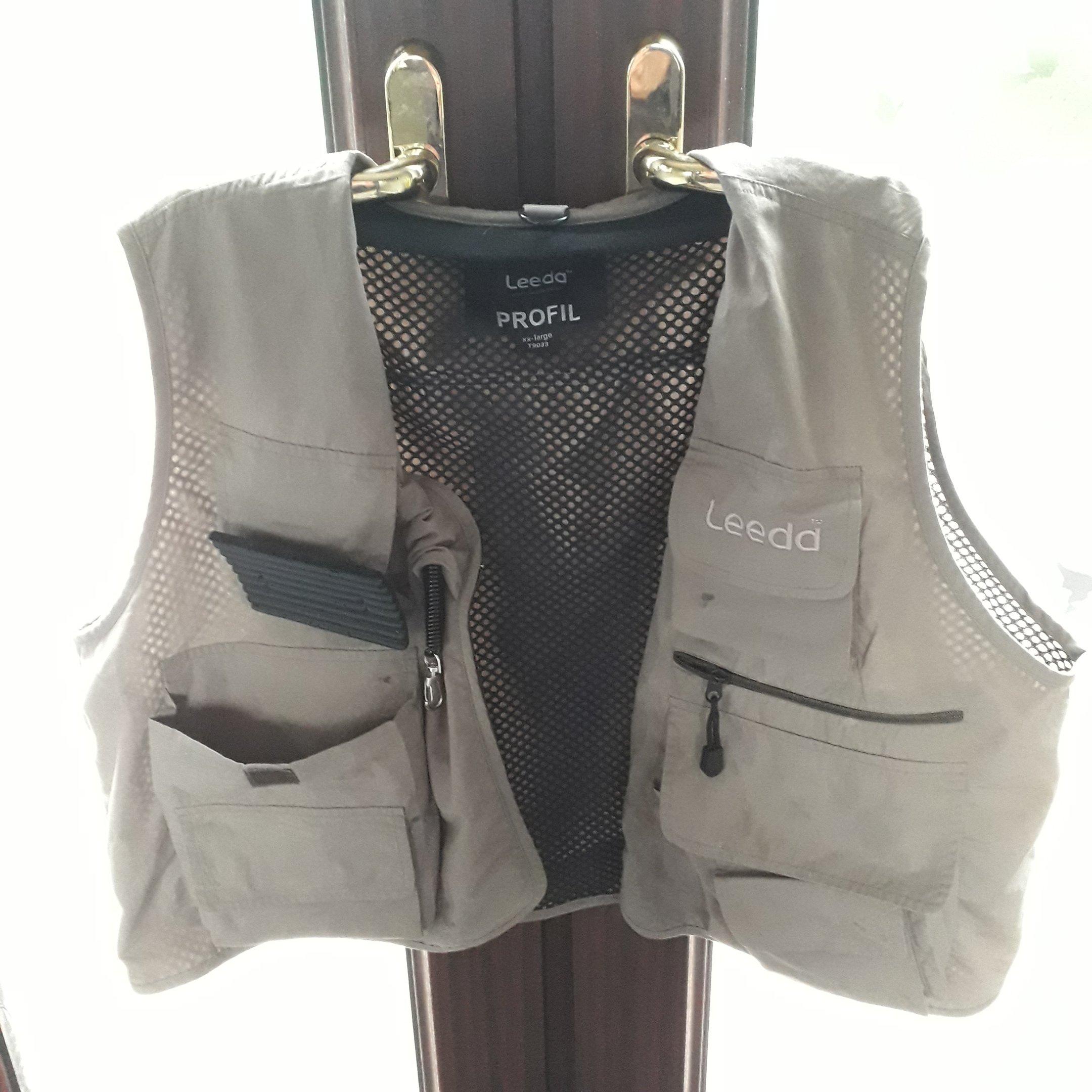 Leeda flyfishing vest