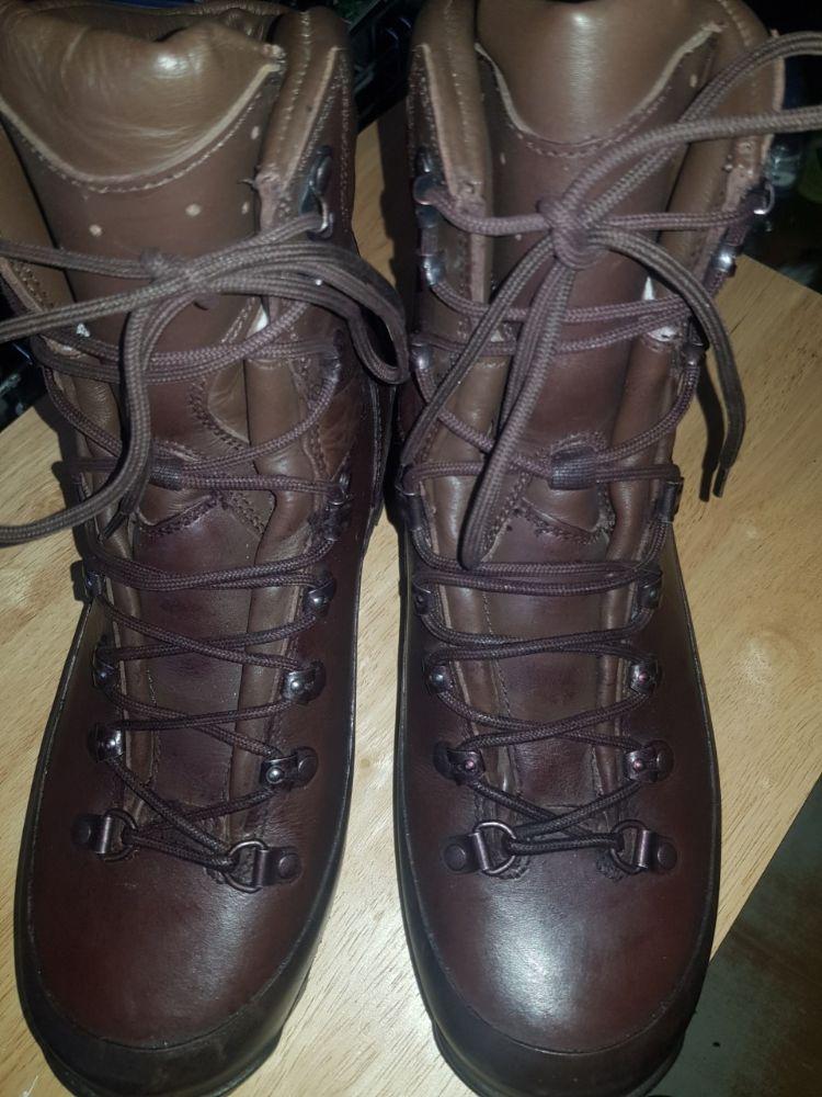 Iturri GTX Combat Boots,gore-tex,size 8M