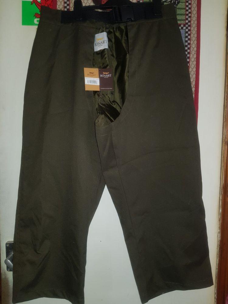 Bonart Treggings/Over trousers - Green,large