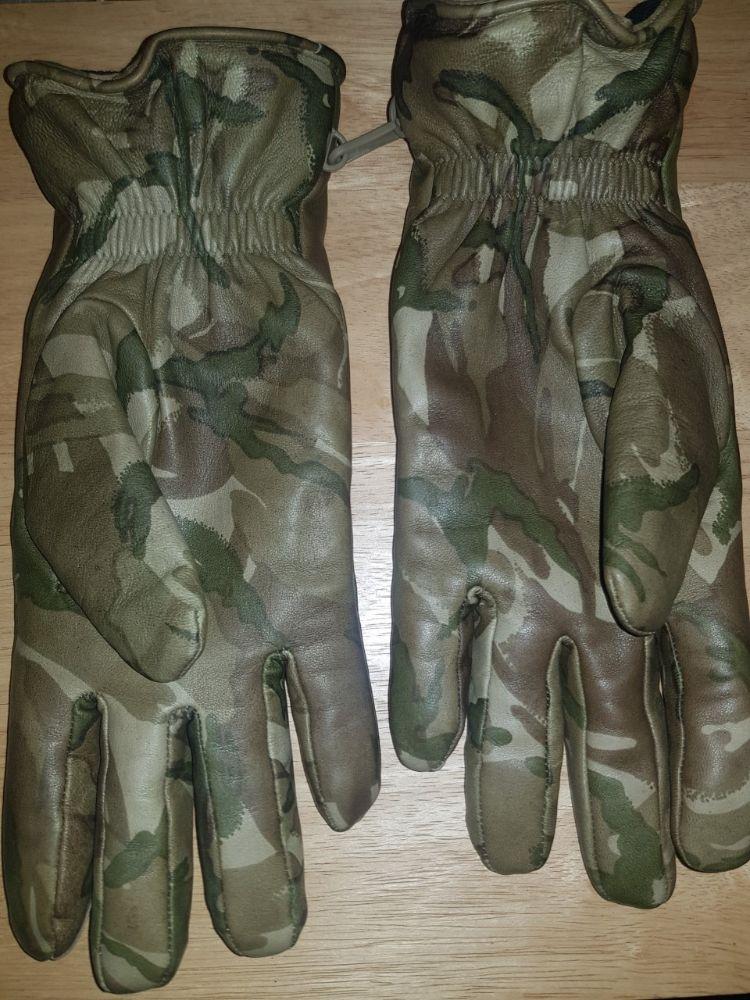 MTP sheepskin leather gloves,british army,size 9