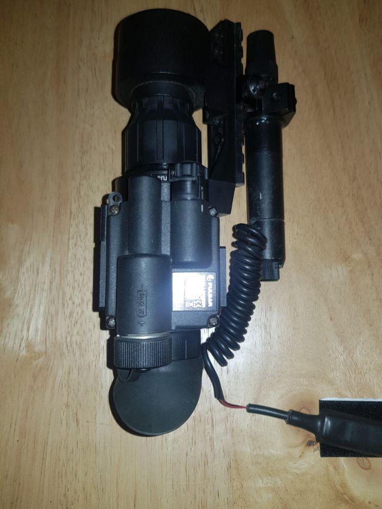 Pulsar Challenger nv add-on with n1000 laser & JSR day scope