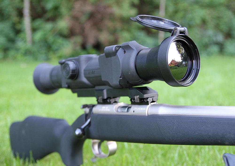 Pulsar Apex XD75 Rifle Mounted